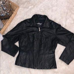 WILSONS maxima 100% leather jacket sz small